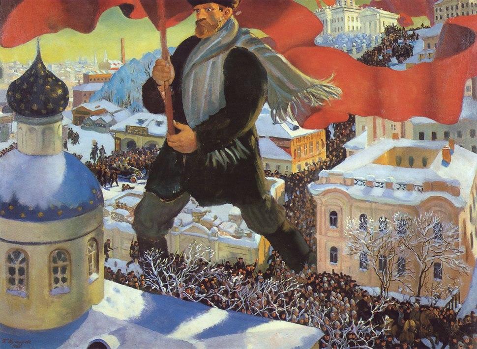 Kustodiyev bolshevik
