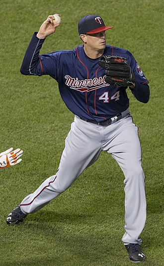 Kyle Gibson - Gibson with the Minnesota Twins in 2016