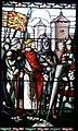 Léo Schnug, Comparution de Richard Cœur de Lion devant l'empereur Henri VI à Haguenau en 1193, vitrail au musée historique de Haguenau ( détail ).jpg