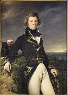 Louis-Philippe als Generalleutnant 1792, Gemälde von Léon Cogniet für das Schloss Versailles (1834) (Quelle: Wikimedia)