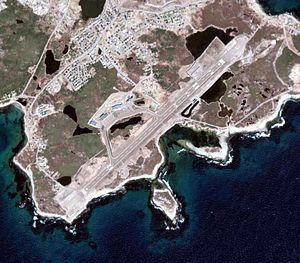 Saint-Pierre Airport - Image: LFVP