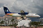 LIAT, De Havilland Canada DHC-8-311A Dash 8, V2-LGI (16174794667).jpg