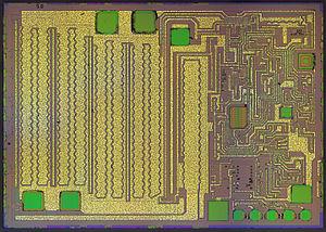 Low-dropout regulator - Die of the LM2940L regulator