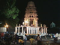 image of a chariot in a temple festival