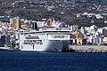 La Palma - Santa Cruz - Port of Santa Cruz de La Palma + MSC Armonia (Avenida Bajamar) 02 ies.jpg