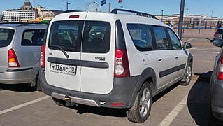 Commercial vehicle motor vehicle that is designed to transport persons or goods