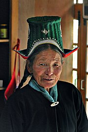 Ladakh Woman edit4