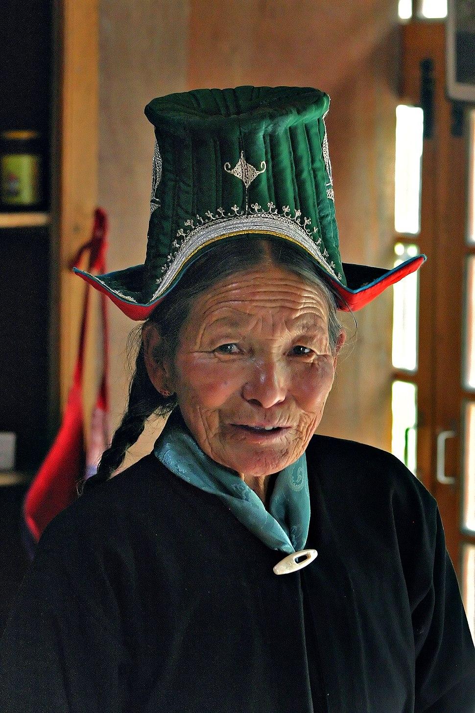 Ladakh Woman edit4