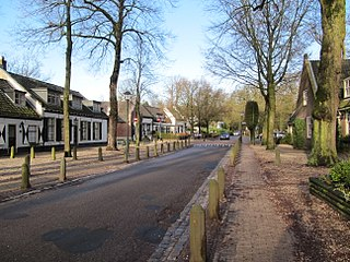 Lage Vuursche Village in Utrecht, Netherlands