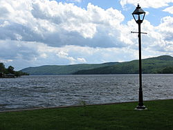 Lake Massawippi seen from North Hatley.JPG