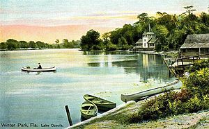 Winter Park, Florida - Lake Osceola c. 1906