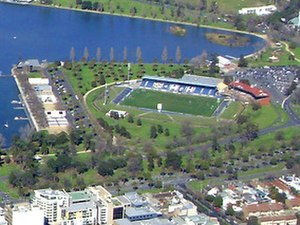 Lakeside Stadium - Image: Lakeside Stadium Melbourne 01