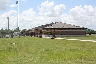 Lamar Soccer Complex - Image: Lamar Soccer and Softball Complex Building