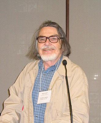 Joachim Lambek - Joachim Lambek in Philadelphia, May 2008