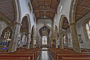 Lancaster Priory - Inside Lancaster Priory