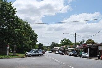 Lancefield, Victoria - Main street, Lancefield