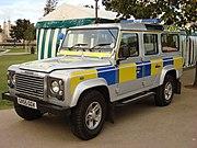 Land Rover Defender Sussex Police