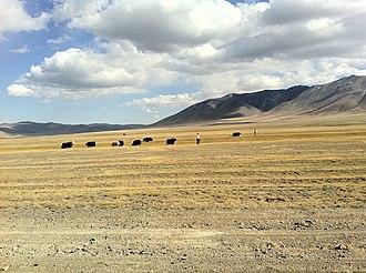 Bayan-Ölgii Province - Landscape in Bayan-Ölgii Province.
