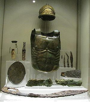 Lanuvium - Warrior tomb from Lanuvium (5th century BC)