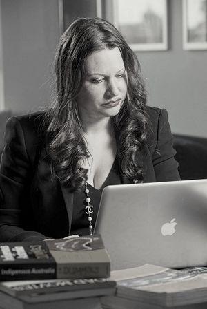 Larissa Behrendt - Larissa Behrendt at work, 2012