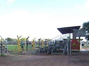 Estadio Contador Damiani - Image: Las acacias