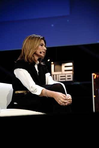 Natalie Massenet - Natalie Massenet at LeWeb at Les Docks Paris conference
