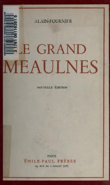 File:Le Grand Meaulnes.djvu