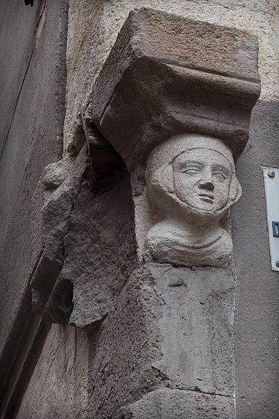 Hôtel de Johanny de Marminhac, 6 rue Courrerie au Puy-en-Velay.