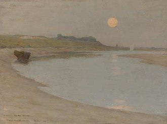 Etaples art colony - Image: Le Sidaner moonlight