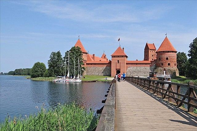 Островной замок. Тракай