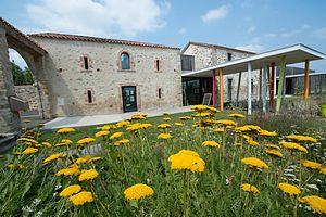 Chaillé-sous-les-Ormeaux - The garden of the House of Dragonflies, in Chaillé-sous-les-Ormeaux