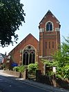 Leatherhead Methodist Church, Church Road, Leatherhead.JPG