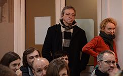 Lecture of Milena Dragicevic Sesic in Minsk 5.02.2015 13.JPG