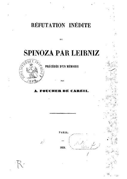 File:Leibniz - Réfutation inédite de Spinoza.djvu
