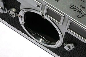 Leica M-mount - Mounting of a M3