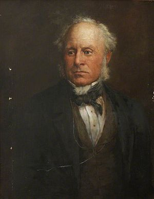Sir Baldwin Leighton, 7th Baronet - Oil Painting of Baldwin Leighton from Shropshire Museums Collections