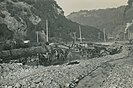 Repair work in Dunedin's Leith Valley after the 1929 New Zealand cyclone