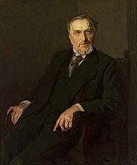 Portrait of Emil Albert Ferdynand Wedel.