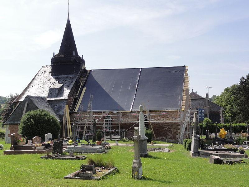 Les Autels (Aisne) église Saint-Nicolas