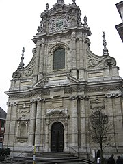 Church of St. Michel in Leuven, Belgium: Willem Hesius, 1650