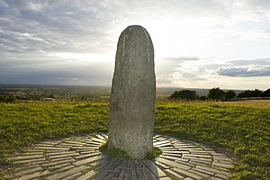 Gaels - The Lia Fáil at the Hill of Tara, sacred site of inauguration for the Gaelic High Kings.