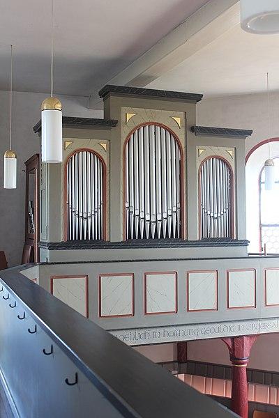 Datei:Lich-Eberstadt - ev Kirche - Orgel - Prospekt 4.jpg