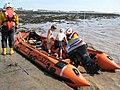 Lifeboat D537 on display.jpg