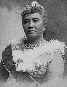 ハワイ州-ハワイ王国時代-Liliuokalani, photograph by Prince, of Washington (cropped)