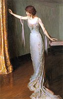 Lilla Cabot Perry, 1911 - Lady in an Evening Dress.jpg