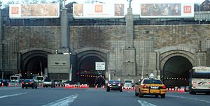 Lincoln Tunnel - NJ Entrance