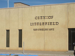 Littlefield, Texas - Municipal building annex in Littlefield