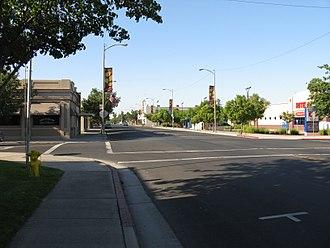 Livingston, California - Downtown Livingston in 2009