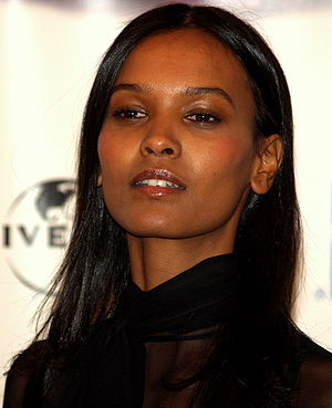 Liya Kebede - Kebede at the 2008 Tribeca Film Festival.