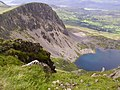 Llyn y Gadair from near the summit of Cadair Idris - geograph.org.uk - 1264800.jpg